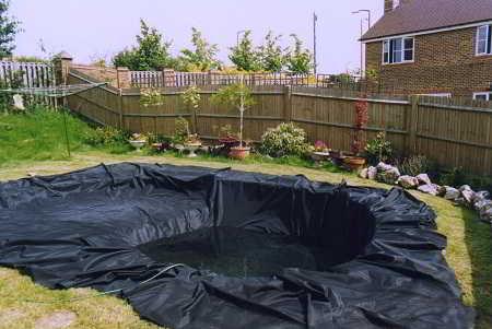 Een vijver aanleggen wat komt er kijken bij vijveraanleg for Koi pool liners